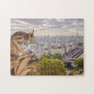 Torn för pussel   Eiffel beskådar   Paris
