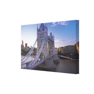 Torn överbryggar i London Canvastryck