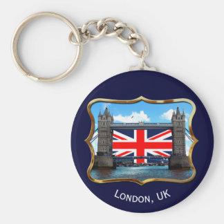Torn överbryggar - London, Storbritannien Rund Nyckelring