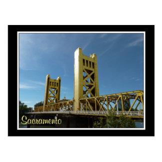 Torn överbryggar, Sacramento Vykort