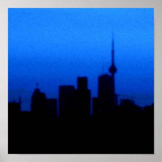 Toronto horisont poster