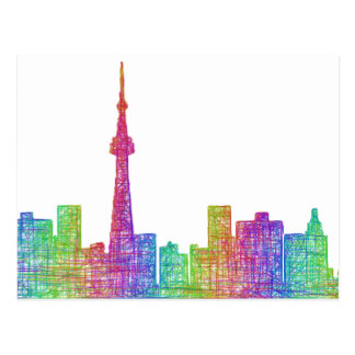 Toronto horisont vykort