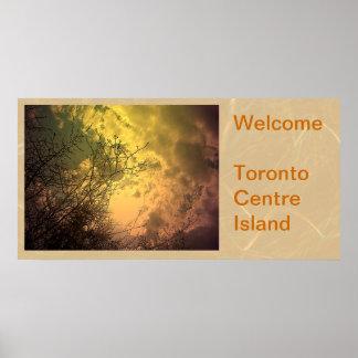 Toronto ö - den Soaring kicken är min natur Poster