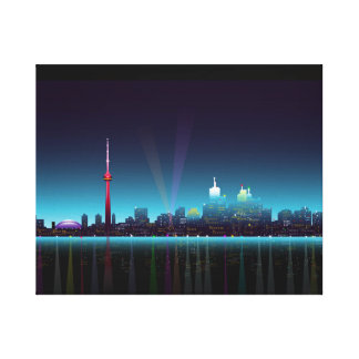 Toronto strandpanorama canvastryck