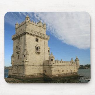 """Torre de Belem, Lisboa"" mousepad Musmatta"