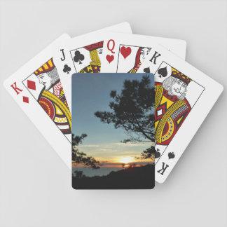 Torrey grässolnedgång III Kalifornien landskap Casinokort