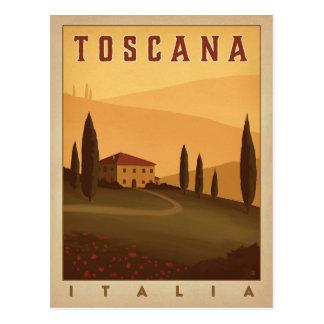 Toscana Italia Vykort