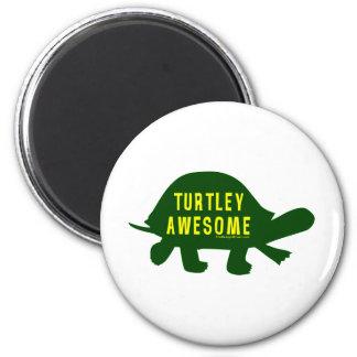 Totalt enorma Turtley Magnet Rund 5.7 Cm