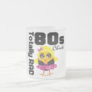 Totalt RAD-80-talchick Frostad Glas Mugg