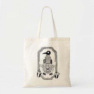 tote bag (bird pattern)