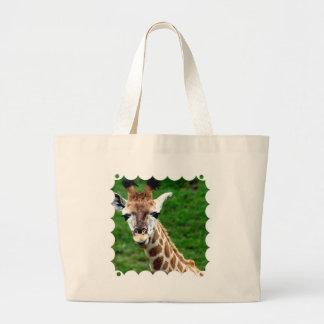 Toto för girafffotokanfas kassar