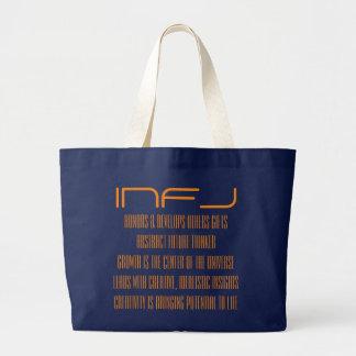 Toto för INFJ-personlighetstyp MBTI Jumbo Tygkasse
