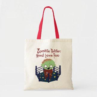 Toto för kärlek för Zombiebabybehov Budget Tygkasse