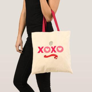 Toto för kärlek XOXO för OL hänger lös Tygkasse