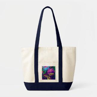 Toto för lila- och blåttroimpuls impulse tygkasse