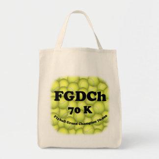 Toto för livsmedel för FGDCh 70K Flyball ledar- Tygkasse