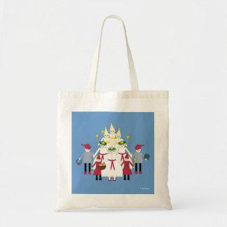 Toto för Martzkin St Lucia dagkanfas Tote Bags