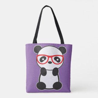 Toto för Pandabjörnhandväska - Leon Pandabjörnen Tygkasse