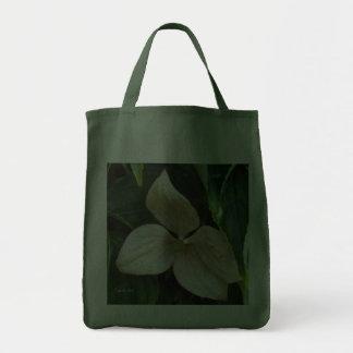 Toto för rosa Dogwood Tote Bags