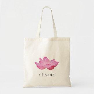 Toto för rosa lotusblomma för Nirvana liten Tygkassar