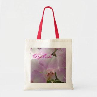 Toto för rosa Orchid för lavendel Tygkasse