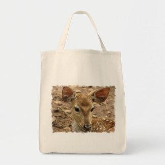Totot för Bambi hjortlivsmedel hänger lös Mat Tygkasse