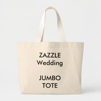 Totot för beställnings- jumbo för bröllop hänger jumbo tygkasse