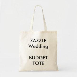 Totot för bröllopanpassningsbarbudget hänger lös budget tygkasse