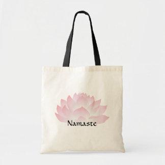 Totot för budget för rosor för Namaste lotusblomma Tygkasse