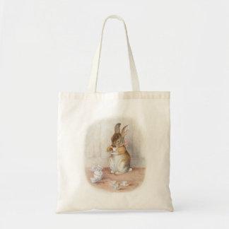 Totot för kanin för Beatrix potterkanin hänger lös Tygkassar