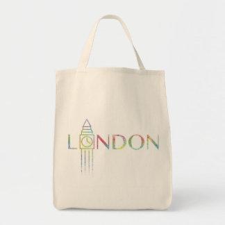 totot för livsmedel för london stora Ben färgstänk Tygkasse