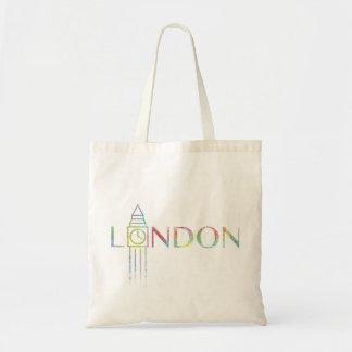 Totot för London stora Ben färgstänk hänger lös Tygkasse