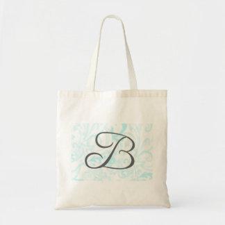 Totot för Monogram B hänger lös Tote Bags