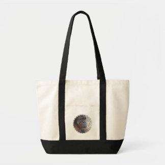 Totot för Orangutanfotokanfas hänger lös Tote Bags
