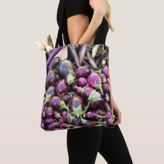 Totot hänger lös (ao) - purpurfärgade grönsaker tygkasse