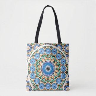 Totot hänger lös med det marockanska mönster tygkasse