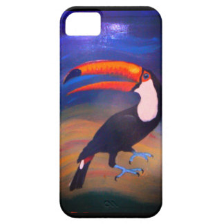 Toucan 2Can! handpainted iPhone 5 Case-Mate Fodraler