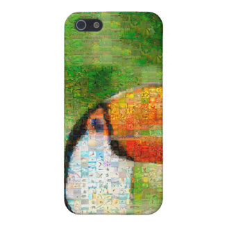 Toucan collage-toucankonst - collagekonst iPhone 5 cases