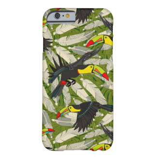 toucan djungel barely there iPhone 6 skal
