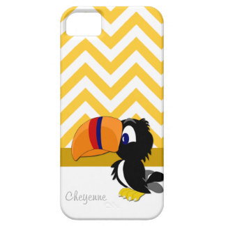 Toucan gul sparreiPhone 5 knappt där iPhone 5 Case-Mate Fodraler