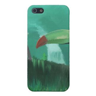 Toucan i rainforesten iPhone 5 skal