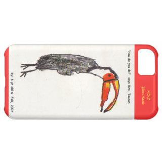 Toucan lurar fodral för konstiPhone 5 iPhone 5C Fodral