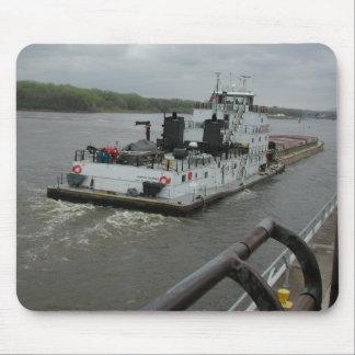 Towboats på Mississippi Musmatta