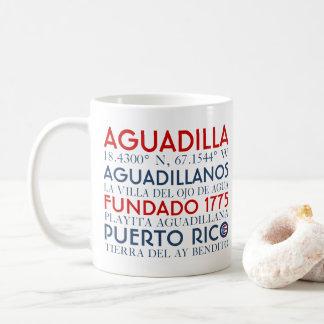Town av Aguadilla, Puerto Rico Kaffemugg