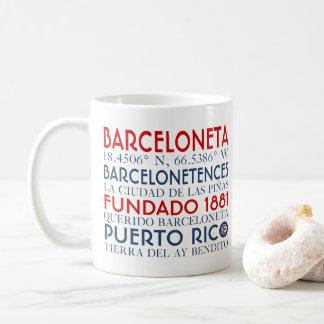 Town av Barceloneta, Puerto Rico Kaffemugg