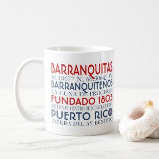 Town av Barranquitas, Puerto Rico Kaffemugg