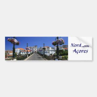 Townen av Nordeste - Azores Bildekal