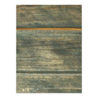 trä 16,5 x 22,2 cm inbjudningskort