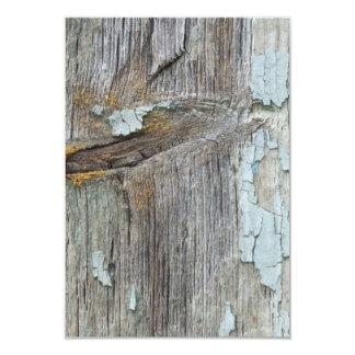 trä 8,9 x 12,7 cm inbjudningskort