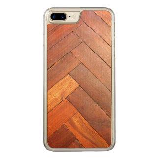 Trä Carved iPhone 7 Plus Skal